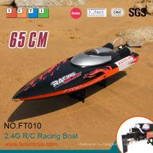 RC модели 65 см черный 35 км/ч большой высокой скорости лодки лодки rc
