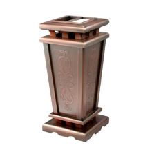 High-End Stainless Steel Lobby Use Dustbin (YW0049)