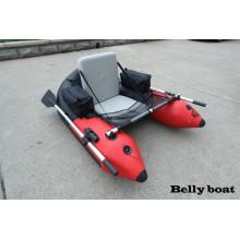 2015 Mais populares Barco inflável de 170 cm para 1 pessoa, barco de pesca, barco com pontão inflável