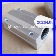 Aluminum linear rail bearing SCS20LUU