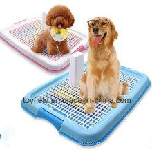 Animal de estimação Toilet Plastic Toilet Toilet Dog