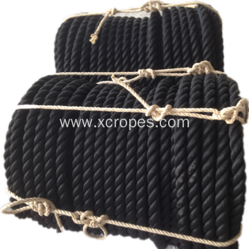Mooring Rope Twist Black PP Rope