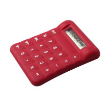 Silicone Material Flexible Rubber Calculator for Kids