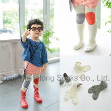 Encantador bebé algodón medias pantimedias medias con diseños de dibujos animados