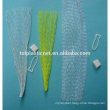 100% PE tubular mesh sleeve fruit bag