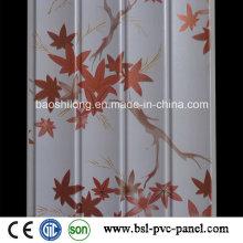 Panneau mural en acier inoxydable en bois PVC Hotselling Wave Panel