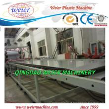 Linha de máquina extrusora de folha de plástico PP PE com CE