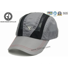 High Quality Fast Dry Polyester Microfiber Golf Hat Sports Cap