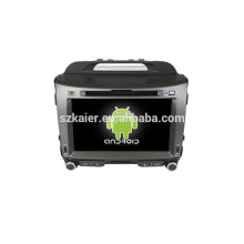Quad core android 4.4 coche dvd gps navegación, Bluetooth, MIRROR-CAST, AIRPLAY, DVR, juegos, zona dual, SWC para KIA SPORTAGE R