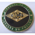 Customized& Gold Plating 3D Challenge Coin