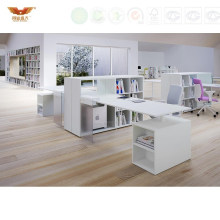 Warm White Office Modular Call Center Office Cubicle Workstation (HY-2938)