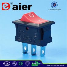 Interruptor de balancín con 3 alfileres