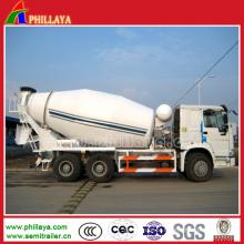 Misturador de cimento da maquinaria do tanque do volume do misturador do caminhão do cimento
