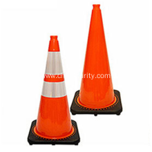 "28"" inch Highway Orange collapsible safety cones Foldable Traffic Cone"