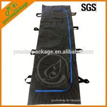 schwarz weiß blau Mortuay Medizinische Leiche Tasche