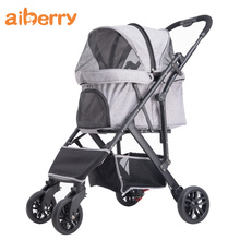 Aiberry Triple Folding Dog Travel Trolley-kinderwagen