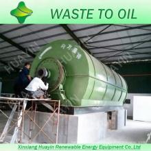 Пластиковые завод по переработке отходов для получения топлива из пластиковых отходов непрерывная шин пиролиз машины промышленные масла оборудование для вторичной переработки отходов