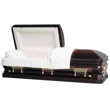 Acier de calibre 18, cercueil de Bronze Sterling patrimoine