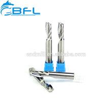 BFL- Molino de extremo de una sola flauta de carburo sólido para corte de aluminio de alta velocidad