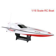 Popular 1: 16 RC barco de controle remoto para crianças