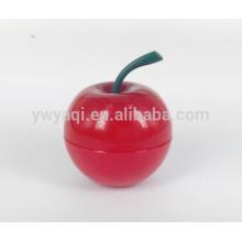 Beliebte feuchtigkeitsspendende Runde Apple Lippenbalsam mit anderen Geschmack