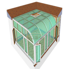 Garden House Aluminum Patio Roof Outdoor Glass Room