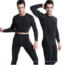 Camiseta de running para hombre Fitness High Techst Tight Activewear Ropa de deporte