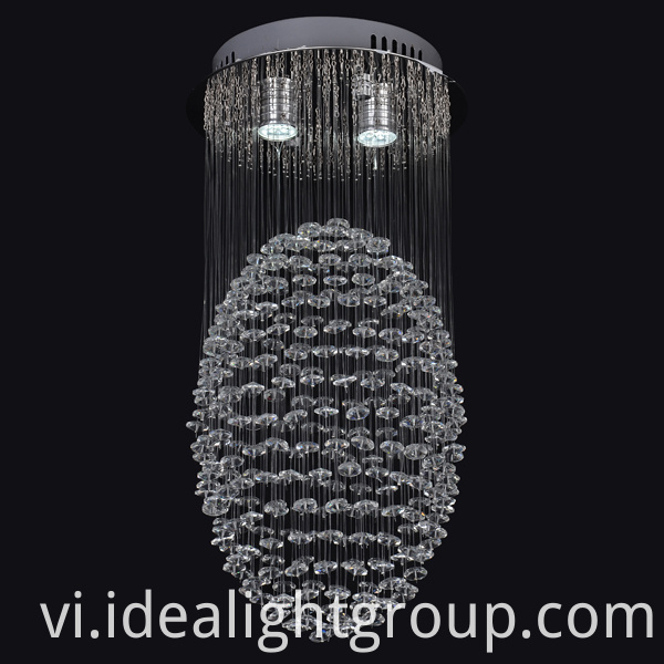 crystal lighting hanging