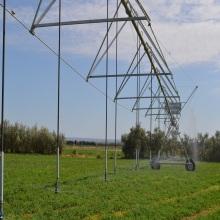 Sistema de irrigação do pivô central do aspersor de chuva de impacto