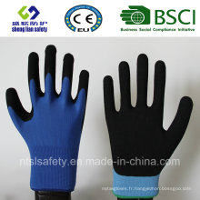 13 Gauge Nylon Liner, Nitrile Coating, Sandy Finish Safety Work Gloves (SL-NS105)