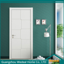 Colored Painting Flush MDF Solid Core High Quality Interior Wooden Door
