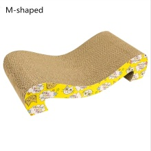 Curve Cat Scratching Pad