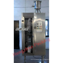 Sellado de llenado de líquidos automático PE y laminado de película que hace la máquina de leche y semi líquido
