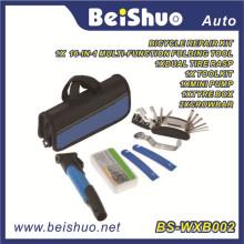 Ciclismo Bike Repair Tool Bag Tire Tool Mini Pump Patch Kit