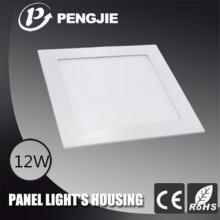 Hot Selling 12W LED painel luz habitação para o hotel (rodada)