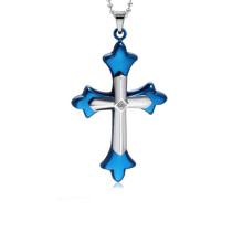 Лучшие продажи крест кулон,шкентель креста нержавеющей стали Иисус крест кулон