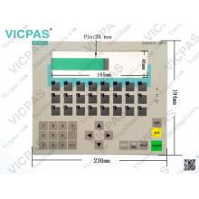 6AV3617-1JC00-0AX1 teclado de membrana OP17 / PP / teclado de membrana 6AV3617-1JC00-0AX1