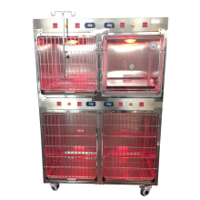 Veterinary Vet Clinic ICU Cage Dog Kennel Strong Stainless Steel Diagnosis & Injection Automatic Charged