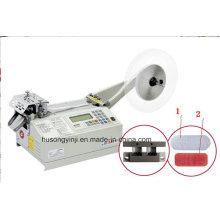 Haken- und Schleifenband-Schneidemaschine