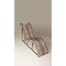 Cadeira de sauna de aço inoxidável cadeira de massagem