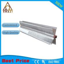 Pièces de chauffage électrique à air avec placage à haute température