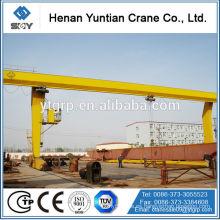 Marca de fábrica famosa de China Henan Yuntian L sola grúa de pórtico de la viga