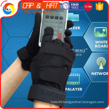 Wholesale low price high quality customized touch screen gloves custom logo low pair