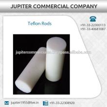 Varillas de Teflón altamente duraderas para uso industrial a bajo precio