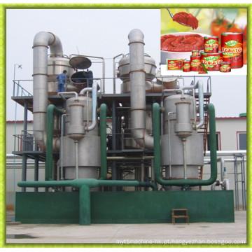 Evaporador de pasta de tomate totalmente automático