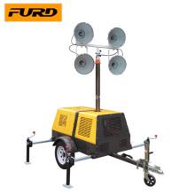 Led Mast Torre de luz con generador