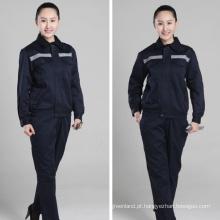 uniformes de luva longa design personalizado trabalho de carpinteiro