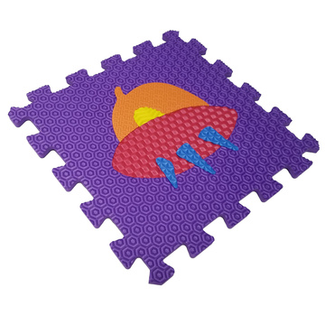 Melors Puzzle Spielmatte Bodenbelag Matten für Kinder mit Traffic Shapes Pop-Out