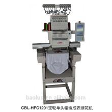 Máquina de bordar computerizada sola cabeza plana