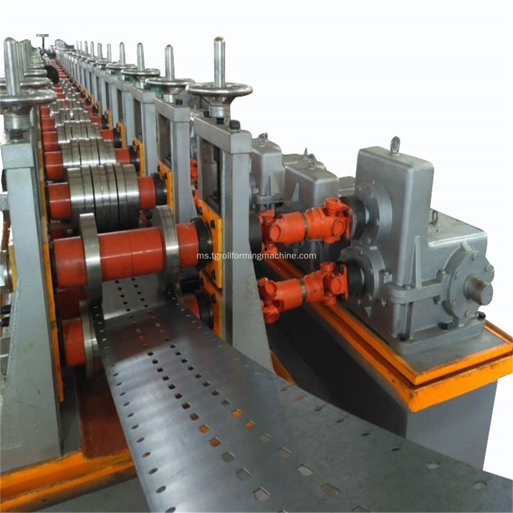 Supermarket Rack Upright Roll Forming Machine